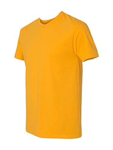 Next Level Mens Premium Fitted Short-Sleeve Crew T-Shirt - 2X Plus - Gold ()