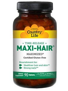 COUNTRY LIFE VITAMINS MAXI HAIR TR, 90 TAB For Sale