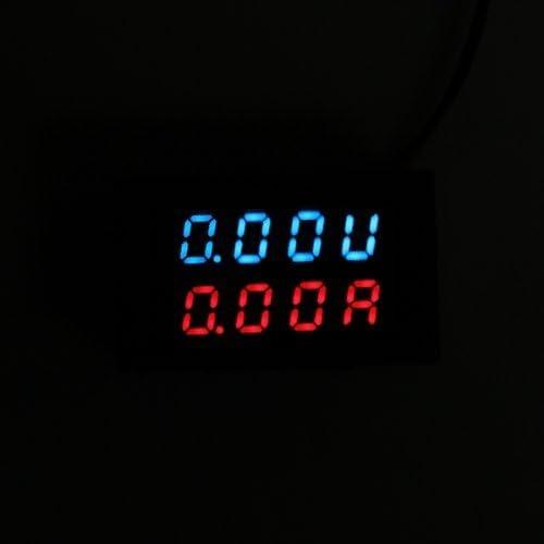 Pannello Voltmetro Amperometro Digitale Misuratore LCD DC 100V 10A 4 Cifre R SODIAL