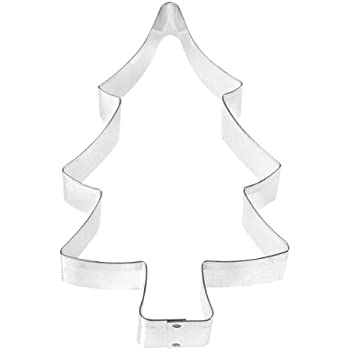 fox run 3366 christmas tree cookie cutter 5 inch stainless steel
