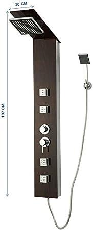 DP Grifería CF-7074 Columna de hidromasaje para modelo de ducha Jaen: Amazon.es: Bricolaje y herramientas
