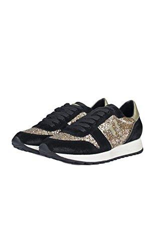 Basses 79s045xx51 Femme Jeans Chaussures Trussardi Noir HBq8wxtF