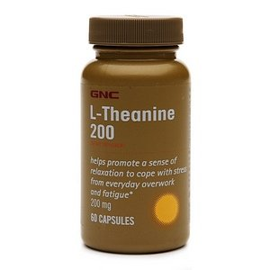 GNC L-théanine 200 capsules, 60 ch