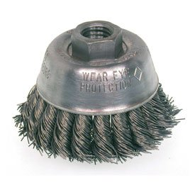 (Osborn 334590 Small Grind Knot Cup Brush 2-3/4
