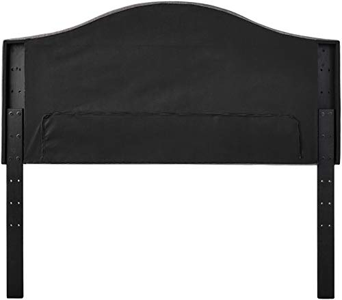 Bedroom Amazon Brand – Ravenna Home Haraden Modern Curved-Top King Bed Headboard, 82″W, Grey modern headboards