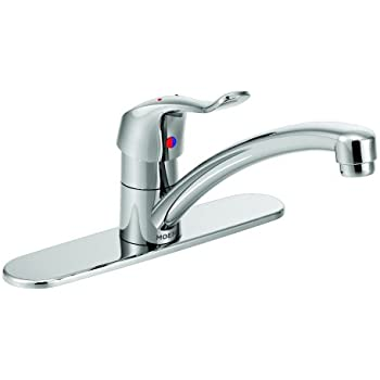 Moen 8701 Commercial M Dura One Handle Kitchen Faucet 1 5