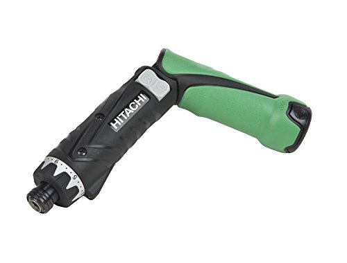 1. Hitachi DB3DL2 ¼ Inch 3.6 Volt Lithium Ion Dual-Position Cordless Screwdriver Kit