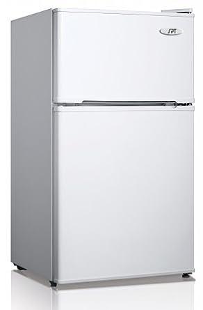 Amazoncom SPT RF314W Double Door Refrigerator White 31 Cubic