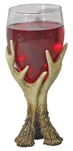 Antler Wine Glasses with Distinctive Styles 7.5-inch (Set of 2 glasses)