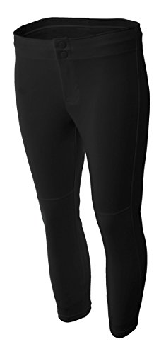 A4 NG6166 Softball Pant, Black, X-Small