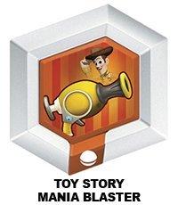 Disney Infinity Series 3 Power Disc Toy Story Mania Blaster  Woody  By Disney Interactive Studios