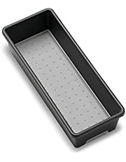 """madesmart Classic 9.75"""" x 3.75"""" Bin - Granite 