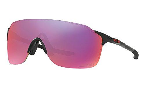 Oakley EVZero Stride Sunglasses Matte Black / Prizm Road & Cleaning Kit - Prizm Road