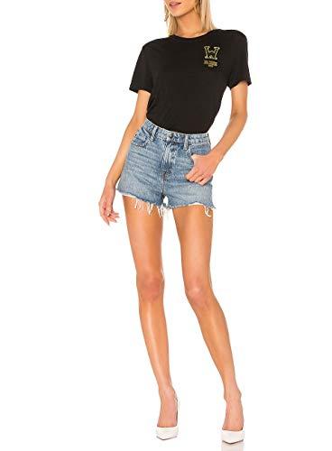 T Mujer white shirt Off Negro Viscosa Owaa049r19b980481088 paSvpBqwx