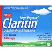 Claritin Allergy 24 Hour 10mg Tablets-20 ct ()