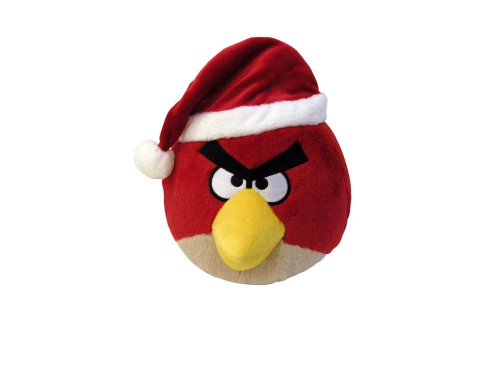 "Angry Birds 5"" Limited Edition Christmas Plush - Red Bird (No Sound) free shipping"