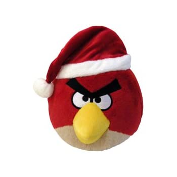 angry birds 5 limited edition christmas plush red bird no sound - Christmas Angry Birds