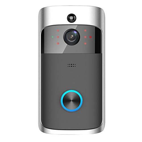 Semoic Wireless WiFi DoorBell Smart Video Phone Door Visual Ring Intercom Secure Camera