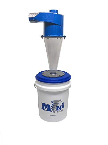 CV06 Mini System with Collection Bucket and Hose - dust collection and separation for shop vacuums