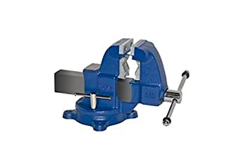 """Yost Vises 31C 3.5"""" Combination Pipe and Bench Vise with 360-Degree Swivel Base, Made in US"""