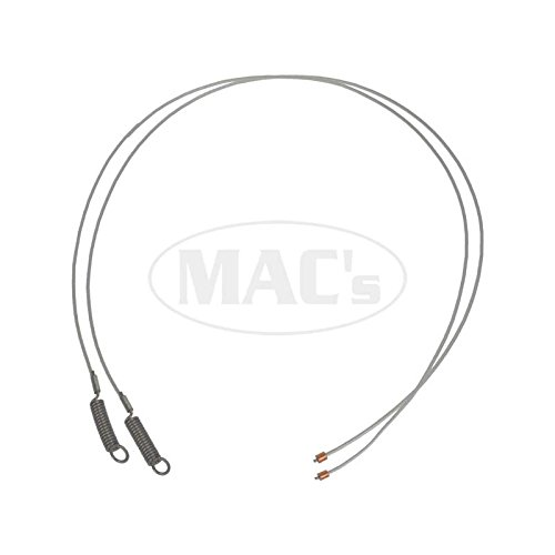 MACs Auto Parts 60-74346 Convertible Tension Cables, Side, Galaxie, Full Size Mercury -