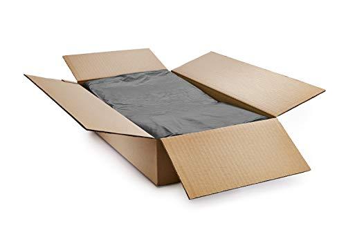 Polylina, vuilniszakken, vuilniszakken, zakken, CHSA-zakken, van gerecycled kunststof, zwart, standaard