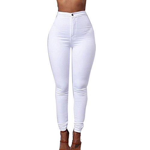 Crayon Pantalon Blanc Haute Fleurs Leggings Meedot Pas Fit Sexy Femmes Broderie Collant de Slim Skinny Pansement Taille qRww8zAx