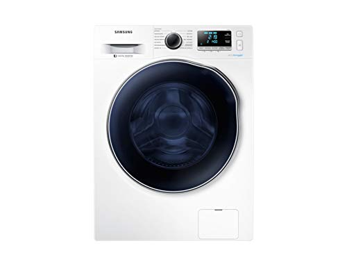 Samsung WD90J6A10AW Carga frontal Independiente Negro, Blanco A ...