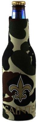 NEW ORLEANS SAINTS CAMO BOTTLE SUIT KOOZIE COOZIE - Camo Bottle Suit