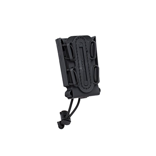 G-CODE (Black) Soft Shell Scorpion -Short- Pistol Mag Carrier with Belt Loop 100% Made in The USA ()