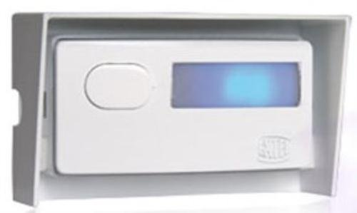 ... Bouton dappel filaire avec porte /étiquette /éclair/é saillie blanc Non lumineux si le carillon est aliment/é par piles Extel