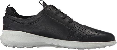 Ecco Heren Doorvoer Stropdas Mode Sneaker, Zwart, 45 Eu / 11-11.5 M Us