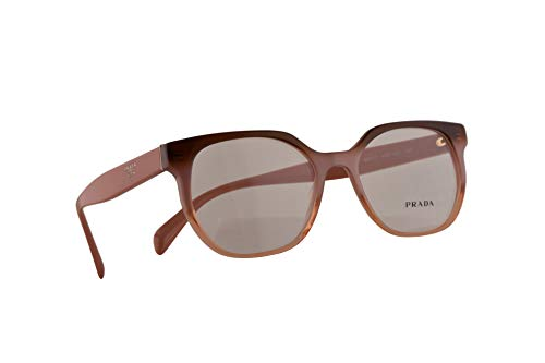 Prada VPR 02U Eyeglasses 52-17-140 Bordeaux Gradient w/Demo Clear Lens VX51O1 PR 02UV PR02UV ()