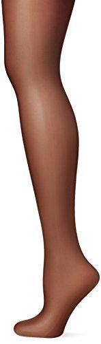 (Pretty Polly Ladies 1 Pair Naturals 8 Denier Sandal Toe Tights Extra Large Black)
