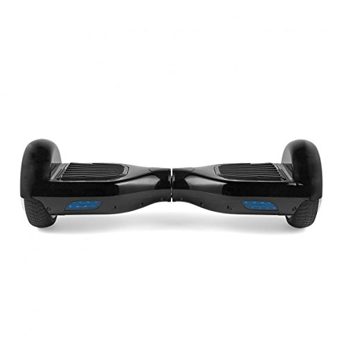 EROVER Two Wheels Smart Self Balancing Scooters Electric Drifting Board Personal Adult Transporter with LED Light Black