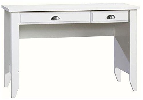 Sauder Shoal Creek Computer Desk, Soft White Finish 411204 SAU1398_6225495