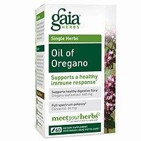 Gaia Herbs Oil of Oregano, 120 Liquid Phyto-Capsules