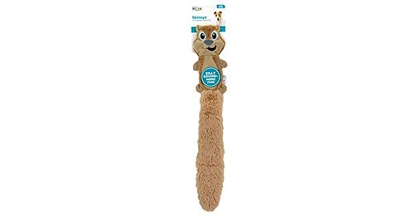 Amazon.com: Outward Hound Slimz Squirrel Squeaky Floppy Dog Toy, Ardilla,  Bronceado: Mascotas