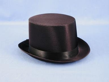 Rich Uncle Pennybags Costume (Childs Satin Top Hat)
