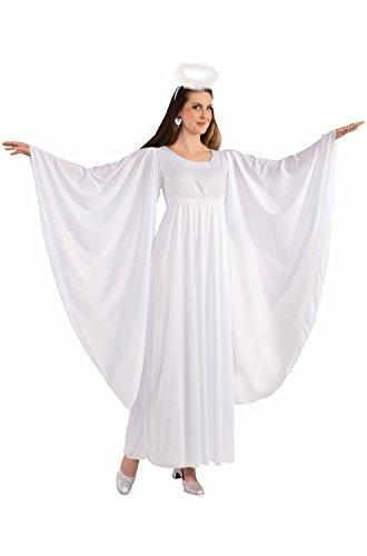 Forum Novelties Women's Angel Costume, White, One Size