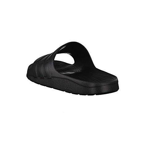 adidas Duramo Slide Chanclas, Unisex Adultos Negro(Negbas/Negbas/Negbas)