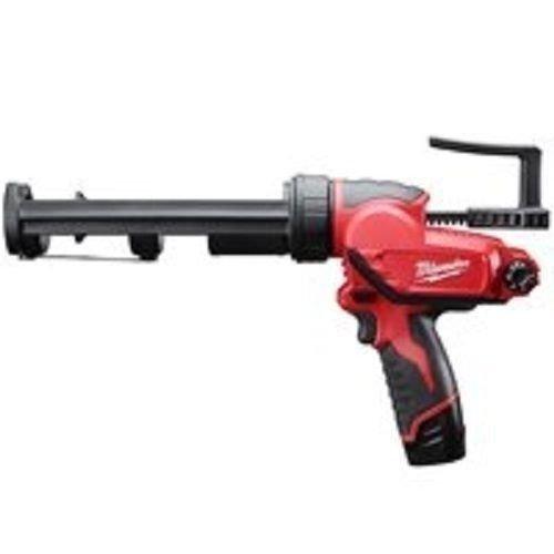 New Milwaukee 2441-21 M12 12 Volt Cordless 10oz Caulk Gun Kit Sale W/ Battery