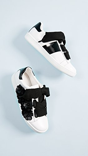 Jeffrey Campbell Mujeres Pabst Sneakers Blanco / Negro