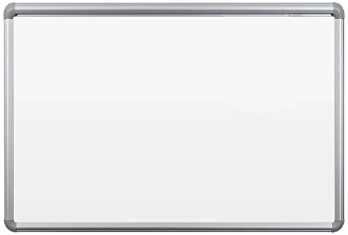 Best-Rite Presidential Trim Best Bite Whiteboard, 2 x 3 Feet Tuf Rite Melamine Surface, Silver Trim (2H1PB-BT)