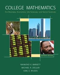 College Mathematics for Business, Economics, Life Sciences & Social Sciences 11th (eleventh) edition PDF