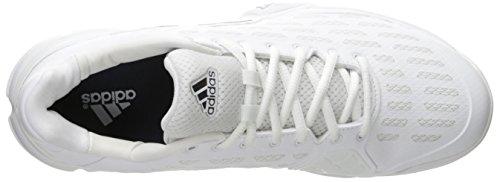 Adidas Performance barricada 2016 zapato tenis, semi limo solar / negro / negro, 6,5 M con nosotros White/Collegiate Navy/Kurz Silver Foil