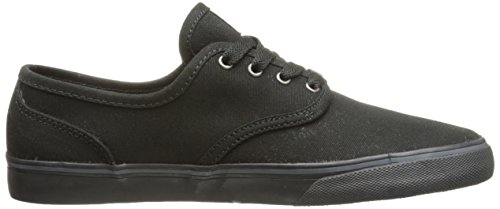 Emerica Men's Wino Cruiser Skateboarding Shoe, Black (Black/Black), 5 UK (38 EU)