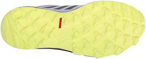 adidas outdoor Women's Terrex Tracerocker W Trail Running Shoe, Aero Blue/Trace Purple/Semi Frozen Yellow, 8 M US by adidas outdoor (Image #3)