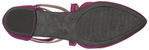 Brinley Co Women's Mirin Flat Sandal Purple kwHka
