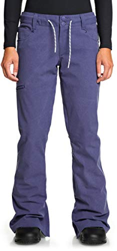 DC Shoes Women's Viva PNT Pants Bio Wash Blue Ribbon XS